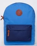 купить Рюкзак GiN Bronx голубой с синим карманом цена, отзывы