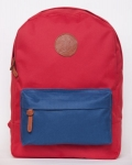купить Рюкзак GiN Bronx красный с карманом неви цена, отзывы