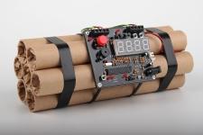 купить Часы-будильник Динамит цена, отзывы