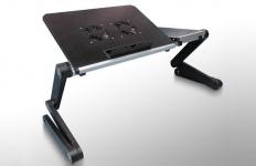 купить Столик для ноутбука черный Матовый цена, отзывы