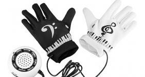 купить Электронные перчатки-пианино цена, отзывы