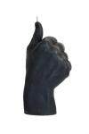 купить Свеча черная в виде руки Like цена, отзывы