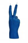 купить Свеча синяя в виде руки Victory цена, отзывы