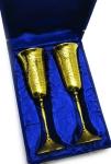 купить Бокалы бронзовые позолоченные George цена, отзывы