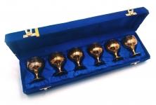 купить Бокалы бронзовые позолоченные 6 шт Noah цена, отзывы