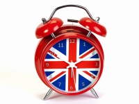 купить Будильник Британский Флаг 16 см цена, отзывы