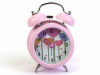 купить Будильник Роща Сердец Нежно-Розовый 12,5 см цена, отзывы