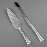 купить Нож и лопатка для торта Кристаллики цена, отзывы