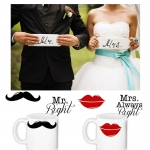 купить Набор чашек MR & MS цена, отзывы