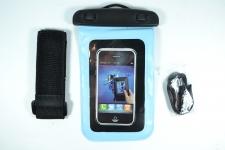 купить Водонепроницаемый чехол для телефона Голубой цена, отзывы