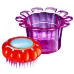 купить Расческа Tangle Teezers Magic Flowerpot Фиолетовая. цена, отзывы