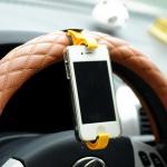 купить Держатель для телефона на руль автомобиля и велосипед Желтый цена, отзывы