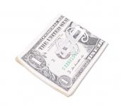 купить Металлический зажим для денег доллар цена, отзывы