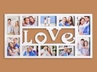 купить Фоторамка Love цена, отзывы