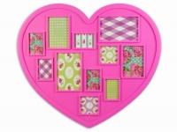 купить Фоторамка big Heart Pink цена, отзывы