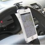 купить Держатель для телефона на руль автомобиля и велосипед ЧЕРНЫЙ цена, отзывы