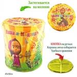купить Корзина для игрушек Маша и Медведь цена, отзывы