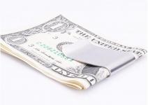 купить Зажим для денег гладкий цена, отзывы