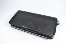 купить Кожаный клатч мужской ручной m011 цена, отзывы