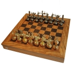 купить Шахматы Manopoulos Греко-римские Оливковый совет война 41х41см цена, отзывы