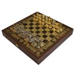 купить Шахматы Manopoulos Греко-римские Троянская Война 36х36см цена, отзывы