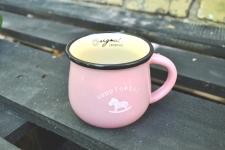 купить Чашка кувшин Розовая Zakka  цена, отзывы