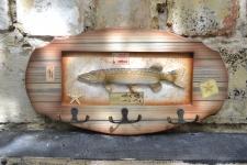 купить Ключница настенная Рыбаку Щука цена, отзывы
