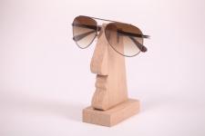 купить Подставка под мужские очки (дуб) цена, отзывы