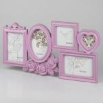 купить Фотоколлаж (49.5x26.5x2 см) розовый цена, отзывы