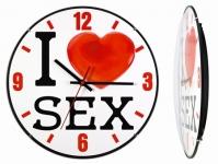 купить Часы настенные I love sex цена, отзывы