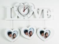 купить Часы настенные Love белые цена, отзывы