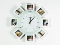 купить Часы настенные семейные на 8 фото цена, отзывы