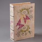 купить Книга сейф с ключиком Бабочки 27см цена, отзывы