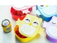 купить Детский ланч бокс Bento Совушка Желтый цена, отзывы