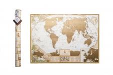 купить Скретч карта мира MyAntiqueMap цена, отзывы