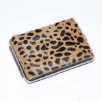 купить Портсигар мех леопард цена, отзывы
