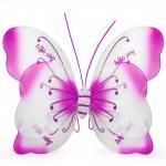 купить Крылья Бабочки Комбинированные (малиновые) 55х50 см цена, отзывы
