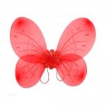 купить Крылья Бабочки средние (красные) 52х44 см цена, отзывы
