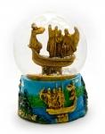 купить Шар со снегом Основатели Киева мини цена, отзывы