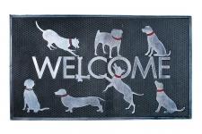 купить Коврик в прихожую Welcome Dogs 75 см цена, отзывы