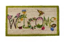купить Коврик в прихожую Welcome Цветы 75 см цена, отзывы