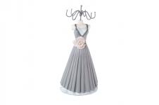 купить Вешалка для украшений платье с розой 34 см цена, отзывы