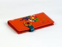 купить Женский кошелек Венок оранжевый цена, отзывы