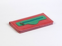 купить Женский кошелек Кейсис (розовый-бирюзовый) цена, отзывы