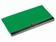 купить Кошелек Бонд зеленый цена, отзывы