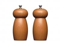 купить MC Набор мельниц для соли и перца деревянный 14 см цена, отзывы