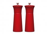 купить MC Набор мельниц для соли и перца деревянный красный 17 см цена, отзывы