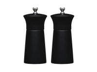 купить MC Набор мельниц для соли и перца деревянный черный 13 см цена, отзывы