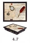 купить Поднос с подушкой Старые письма цена, отзывы