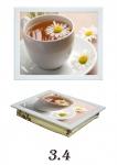 купить Поднос с подушкой чай с ромашкой цена, отзывы